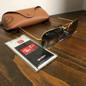 Ray-Ban Glasses RB3025 55mm Grey Gradient Lens